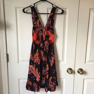 Free People Dresses - Free People cascades floral dress size XS